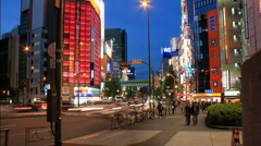 Akihabara - Tokyo's Electric City in Time Lapse Stock Footage