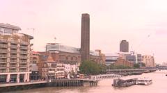 Tate Modern Art Museum Stock Footage