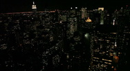 Stock Video Footage of New York City Skyline - Panning