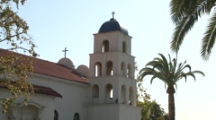 Old Town San Diego USA Church of the Immaculate Conception 214 1402 01 Stock Footage