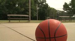 rotate basketball - stock footage