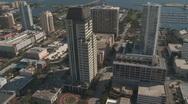 Aerial St Petersburg Down Town 3 Stock Footage
