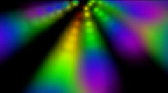 Abstract rotation color ray light and smoke,disco neon tech background.Design Stock Footage
