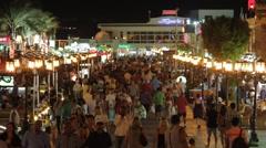 Night life - stock footage