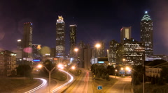 Atlanta Skyline  Stock Footage