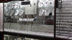 Jeweller's - stock footage
