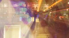 London neon Stock Footage
