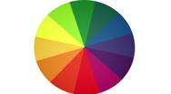 Stock Video Footage of Spinning Color Wheel (Contains Looping Section) HD