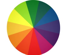Spinning Color Wheel (Contains Looping Section) PAL - stock footage