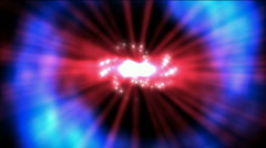 Universe galaxy light,Milky Way,nebula whirl laser,energy tech background. Stock Footage