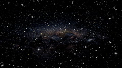 Hyper Space Travel Through the Stars - stock footage