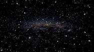 Hyper Space Travel Through the Stars Stock Footage