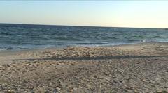 Marine panorama Stock Footage