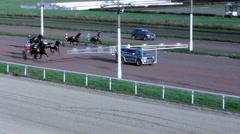 Horserace (3) Stock Footage