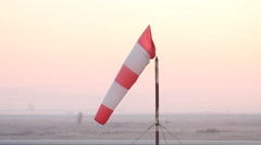 Wind sock Stock Footage