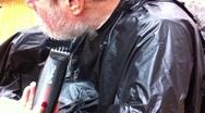 Stock Video Footage of Beard Grooming