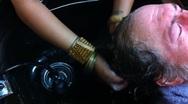 Stock Video Footage of Hair Shampoo Salon
