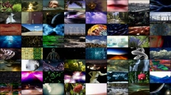 Video Wall 01: Variety HD Stock Footage