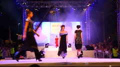Fashion show Stock Footage