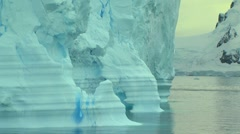 iceberg arches - stock footage