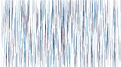 Abstract blue long lines sketch particles fireworks background. Stock Footage