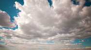 Clean cloudlapse Stock Footage