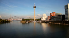 Dusseldorf, Germany Stock Footage