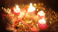 Advent candels Stock Footage