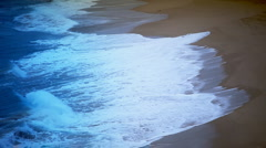 Close up waves Stock Footage