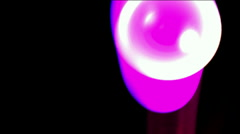 Liikkuva helmi ja ray valo, Photosphere.Ping-pong, pöytätennis, keilailu, raita, Arkistovideo