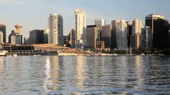 Downtown Vancouver, BC HD Stock Footage