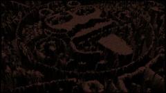 Aztec-mayan calendar Stock Footage