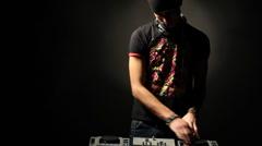 Stock Video Footage of DJ
