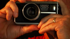 Instamatic Camera Snapshot Stock Footage