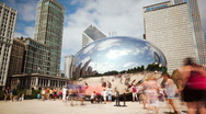 Stock Video Footage of Chicago Bean