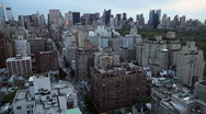 Stock Video Footage of New York City Skyline with Central Park View
