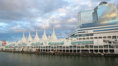 Canada Place HD Stock Footage