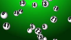 Lottery45_04 Stock Footage