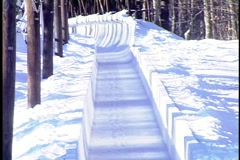 Bobsled1 Stock Footage
