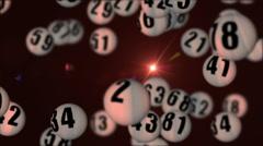 Lottery45rotatingDOF_02 Stock Footage