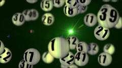 Lottery45rotatingDOF_03 Stock Footage
