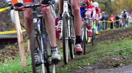 Stock Video Footage of Bike race