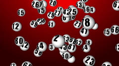Lottery90_02 Stock Footage