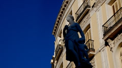 Statue Classic Greece Stock Footage