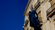 Stock Video Footage of Statue Classic Greece