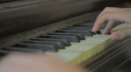 Stock Video Footage of Child playing piano