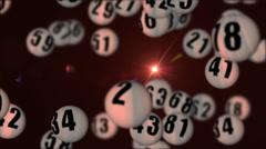 Lottery90rotatingDOF_02 Stock Footage