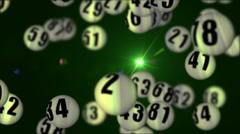 Lottery90rotatingDOF_03 Stock Footage