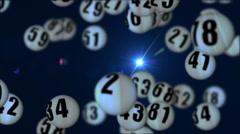 Lottery90rotatingDOF_04 Stock Footage