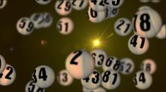 Lottery90rotatingDOF_05 Stock Footage